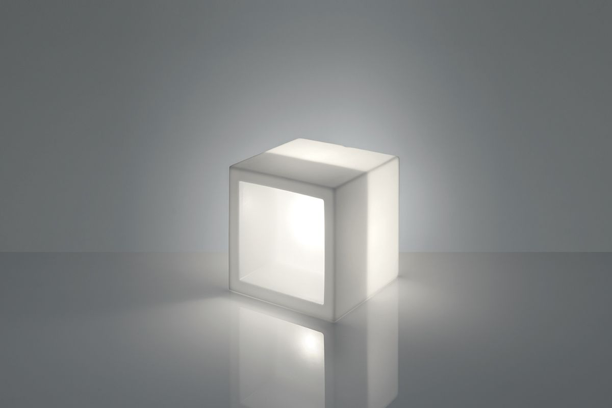 OPEN CUBE LUMINOSO LED