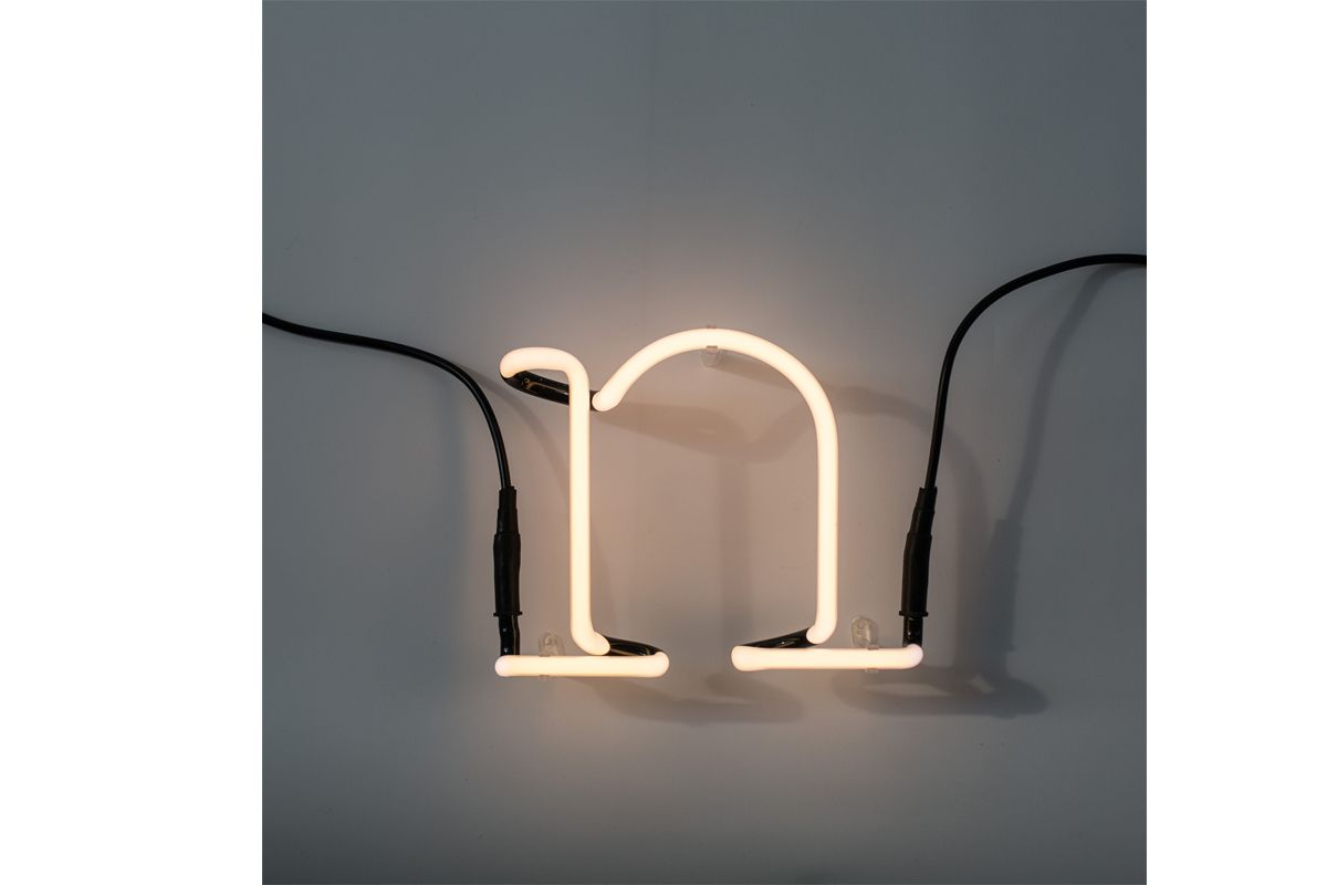 Neon Art  Wall Lamp - Letter N